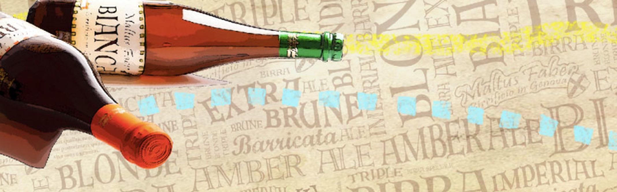 grafica per banner birrificio trait d'union